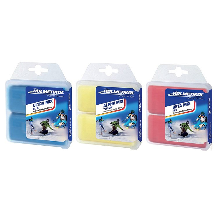 Holmenkol WAX MIX SET 6x35g