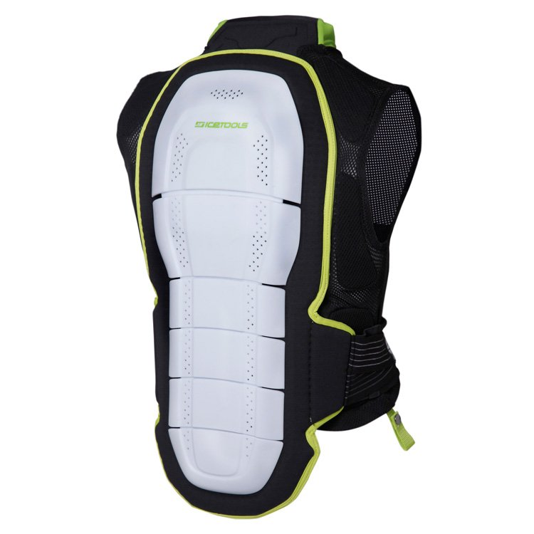 Icetools SPINE JACKET Black/Lime M