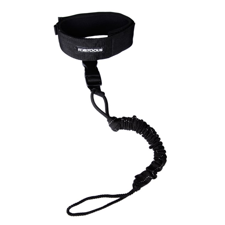 Icetools TWIST LEASH Black
