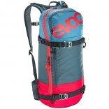 Evoc FREERIDE DAY TEAM 16 Liter Red/Slate/Copen Blue