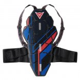 Dainese BACK PROTECTOR SOFT Blue/Red
