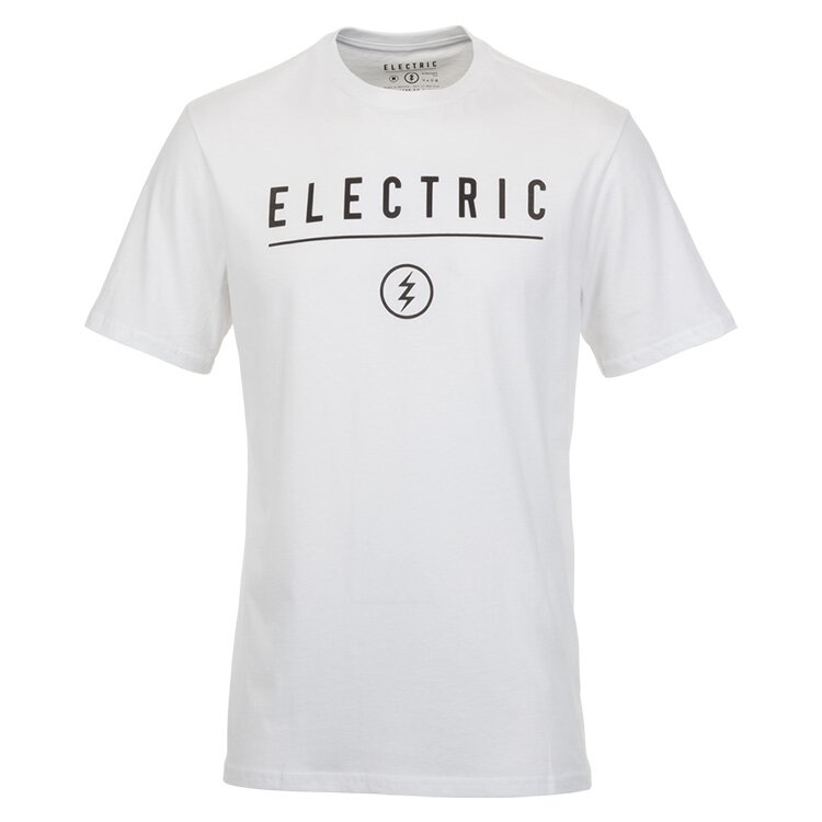 Electric CORP. IDENTITY T-SHIRT White