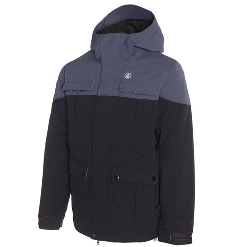 Volcom CAPTAIN INSULATED JACKET Black Boardshop | Sno