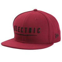 Electric ERA UNDERVOLT SNAPBACK Burgundy