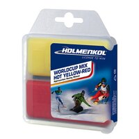 Holmenkol WORLDCUP MIX HOT Yellow-Red 2x35g