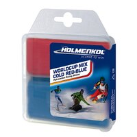Holmenkol WORLDCUP MIX COLD Red-Blue 2x35g