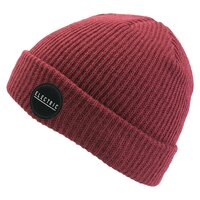 Electric RUBBER STAMP BEANIE Burgundy