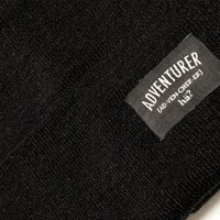 hä? ADVENTURER BEANIE Black