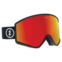 Electric KLEVELAND Matte Black / Brose/Red Chrome + Lens
