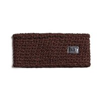 hä? MERINO HEADBAND Brown