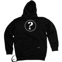 hä? QUESTION RIDE HOODIE Black