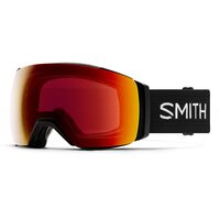 Smith I/O MAG XL Black / ChromaPop Sun Red Mirror + Lens