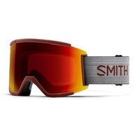 Smith SQUAD XL Oxide / ChromaPop Sun Red Mirror + Lens