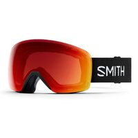 Smith SKYLINE Black 19 / ChromaPop Photochromic Red Mirror