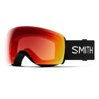 Smith SKYLINE XL Black / ChromaPop Photochromic Red Mirror
