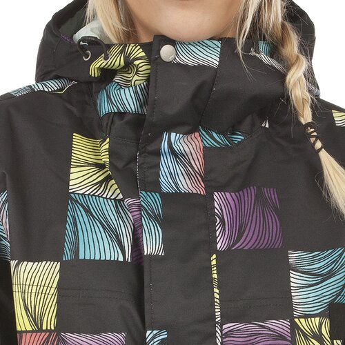 Rome SWAGGER JACKET Lines Print