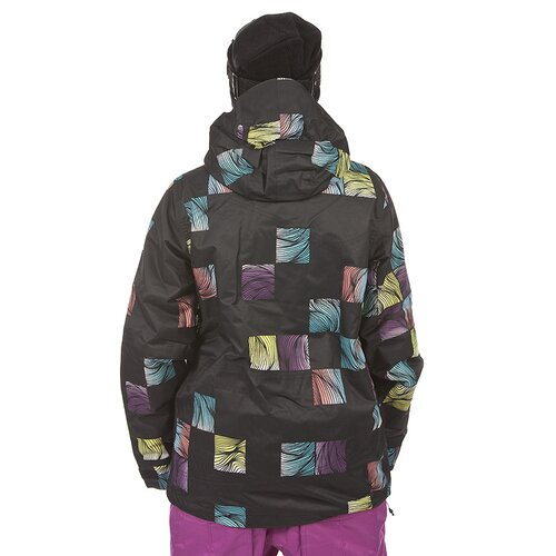 Rome SWAGGER JACKET Lines Print L